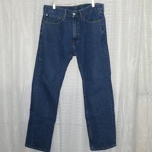 Levi's 505 Classic W34 x L32 Regular Fit Jeans